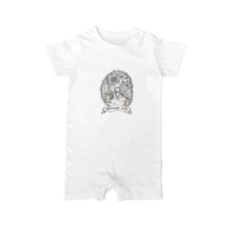 マメンスク物語(表紙画) Baby rompers