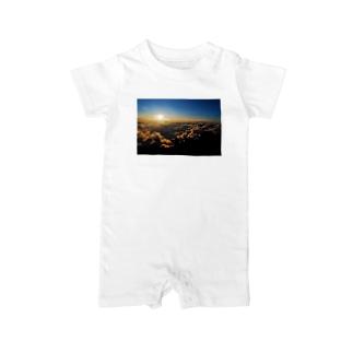 Mt.Fuji Baby rompers
