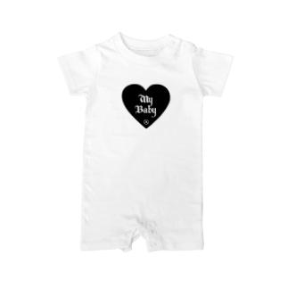 My Baby ®︎ ( WHITE ) Baby rompers