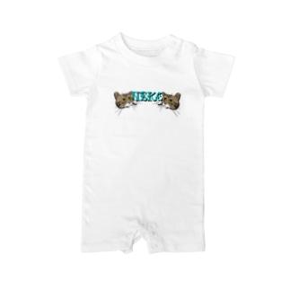 ET・MONKEY🐵のねこ Baby rompers