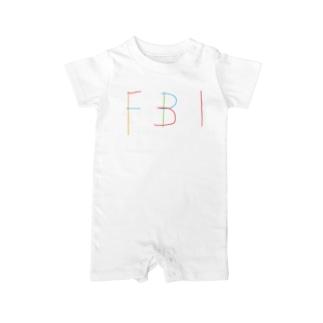 FBI Baby rompers