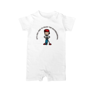 """String skater """"Stand"""" Baby rompers"""