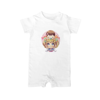 Baby on Girl! おんなのこ Baby rompers