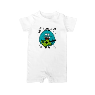Galaxy Monsters Baby rompers