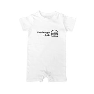 Hambuger Lab. Logo 2 Baby rompers