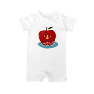 appleくん Baby rompers