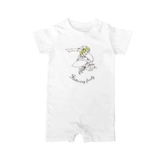 Flying Freely Baby rompers