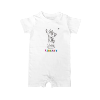 LIBERTY Baby rompers