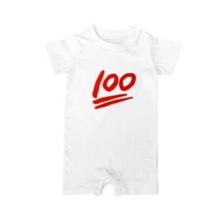100点満点! Baby rompers