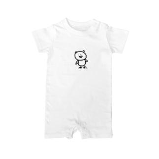 fuku335 Baby rompers