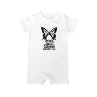 Swallowtail_B Baby rompers