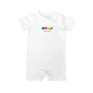 Laugh together 2 Baby rompers