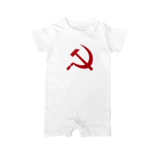 Hammer_and_sickle Baby rompers