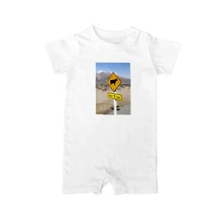 NEXT5 KM牛横断注意 Baby rompers