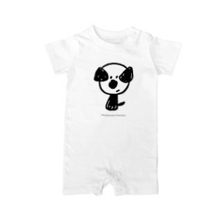 mamoruken(まもるけん!) Baby rompers