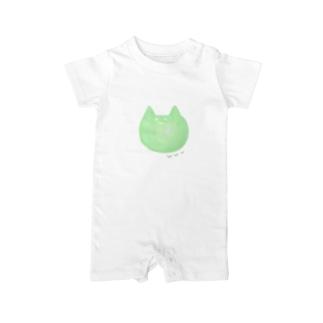 Shihotaru のネットスラング猫「www」 Baby rompers