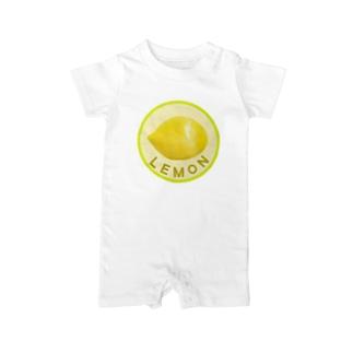 chicodeza by suzuriのレモン Baby rompers