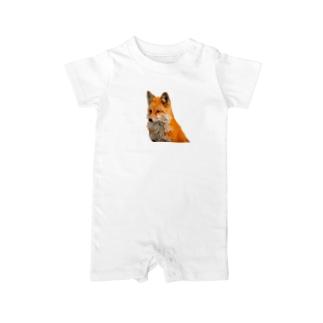 TK-marketの3D フォックス Tシャツ Baby rompers