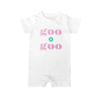 goo×goo Tシャツ Baby rompers