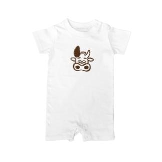 三宿のテイクアウト店SIRCARSの公式キャラクターモービーグッズ Baby rompers