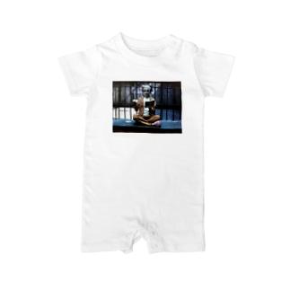 kurogane-shopのハーレークイーン Baby rompers