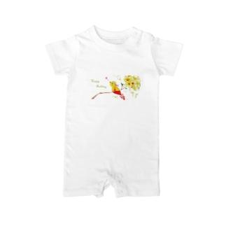 Birth:Little Bird Baby rompers