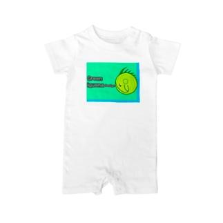 イグアナデザイン Baby rompers