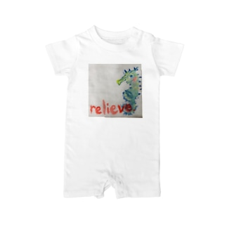 relieve.ーほっとひといき Baby rompers