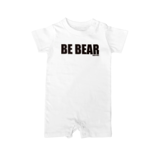 ZiPANGU・時絆倶のBE BEAR Baby rompers