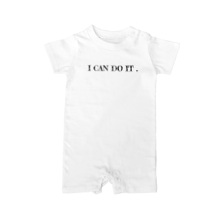 RYO-KのI can do it. Baby rompers
