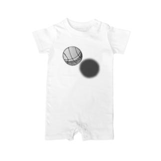 バスケットボール Baby rompers