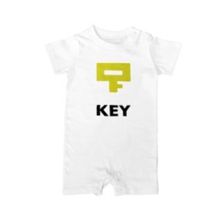 KEY Baby rompers