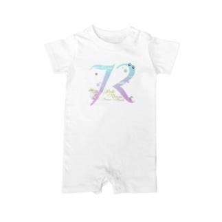 72〜Pacific Ocean Summer  Beach〜 Baby rompers
