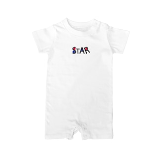 STARシリーズ Baby rompers