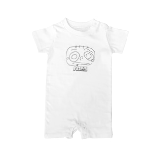 AGE3 No1 「MAMA」 Baby Rompers