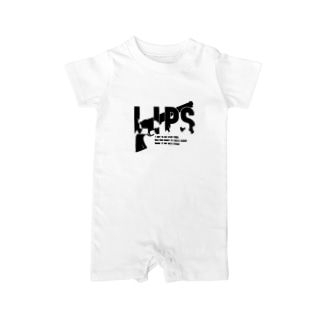 LIPS NO.1 Baby rompers