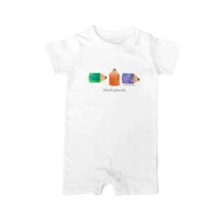 Small pencils. Baby rompers