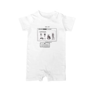 [JKC-v2-12S]PartsList Baby rompers