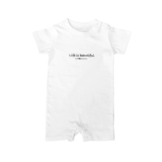 Lifeisbeautifulオリジナルシリーズ Baby rompers