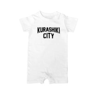 JIMOTO Wear Local Japanのkurashiki city 倉敷ファッション アイテム Baby rompers