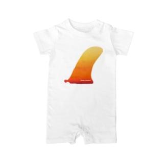 #101 Huesos Cruzados  Baby rompers