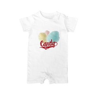 Cotton Candy Baby rompers