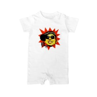 「投!」シリーズ Baby rompers