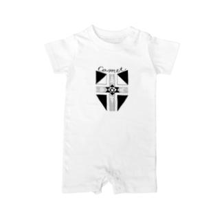 COMETロゴ Baby Rompers