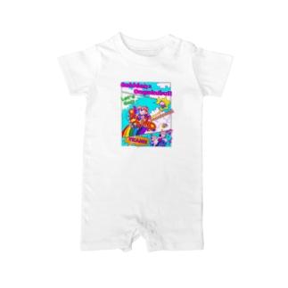 劇団×音楽部Tシャツ Baby rompers