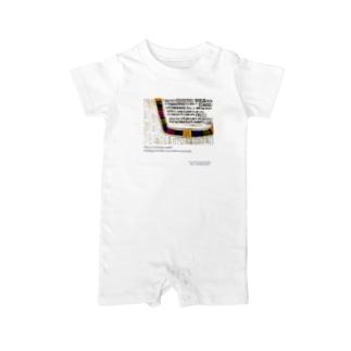 ART T-shirt02 Baby rompers