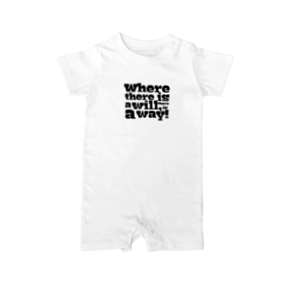 Where there is a will, there is a way! Baby rompers