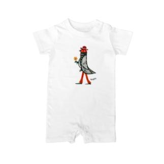 Mr.Birdman Baby rompers