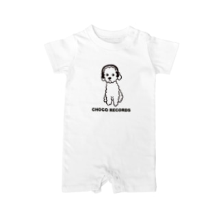 CHOCO RECORDS Baby rompers
