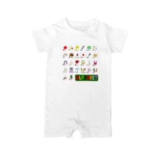 alphabet Baby rompers